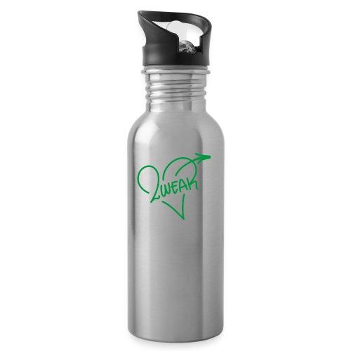 Street Love - Drikkeflaske med integreret sugerør
