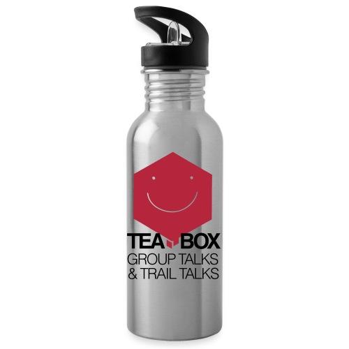 Logo Tea Box - Water bottle with straw