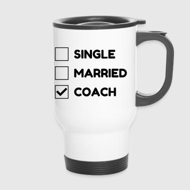Coach / Coaching / Trener / sportu - Kubek termiczny