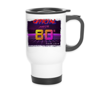 Official product of the 80's clothing - Travel Mug