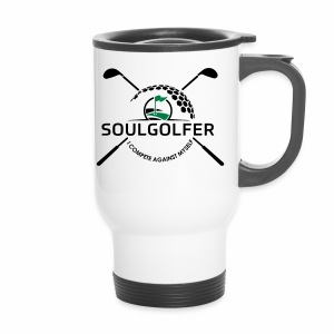 I compete against myself - soulgolfer - Thermobecher