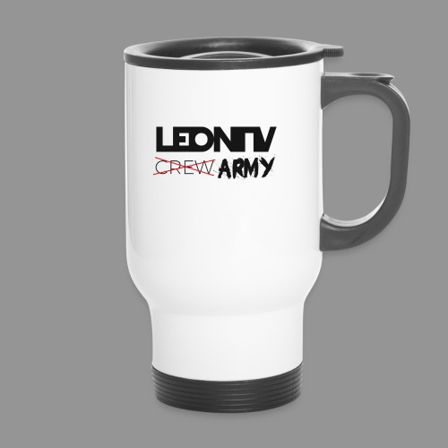 LeonTV ̶c̶̶r̶̶e̶̶w̶ ARMY - Thermobecher