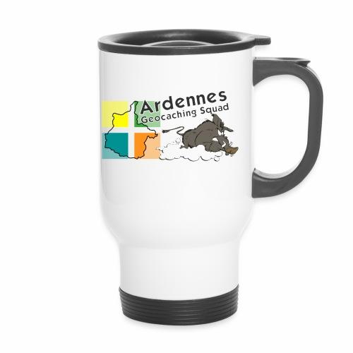 Ardennes Géocaching Squad - Tasse isotherme avec poignée