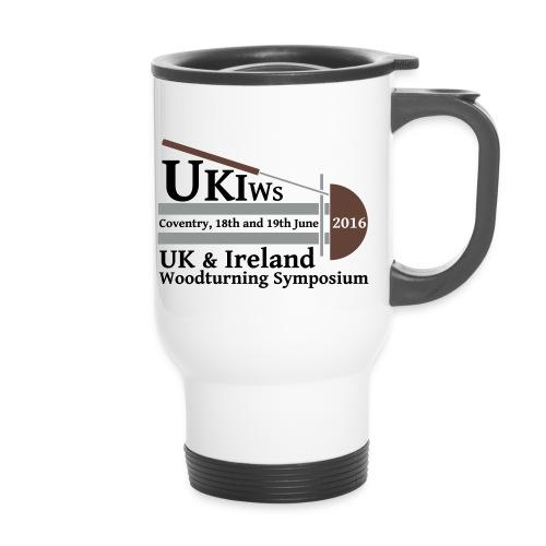 SMALL-UKIWS-Logo - Thermal mug with handle