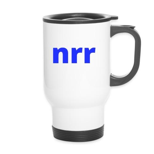 NEARER logo - Thermal mug with handle