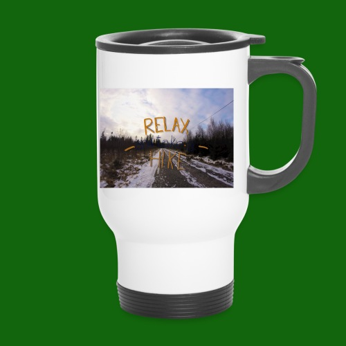 Relax and take a hike - Travel Mug
