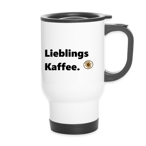 Lieblingskaffee1 - Thermobecher mit Tragegriff