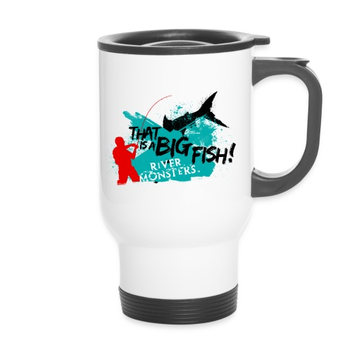 That is a big fish - Travel Mug