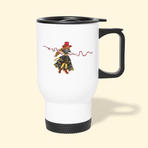 Ladybird - La célèbre uchronaute - Tasse isotherme avec poignée