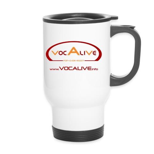 logo vocalive ruecken kopie - Thermobecher mit Tragegriff
