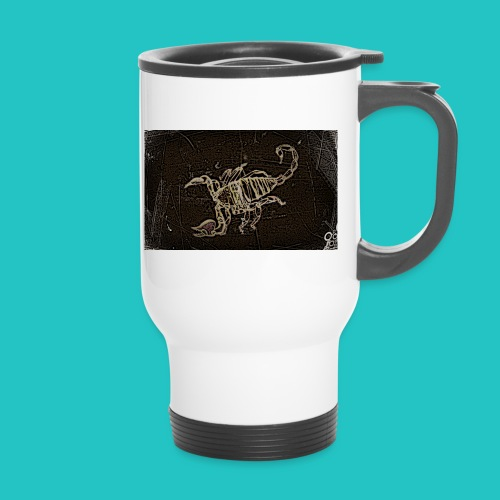 skorpion_grafika-jpg - Kubek termiczny z uchwytem