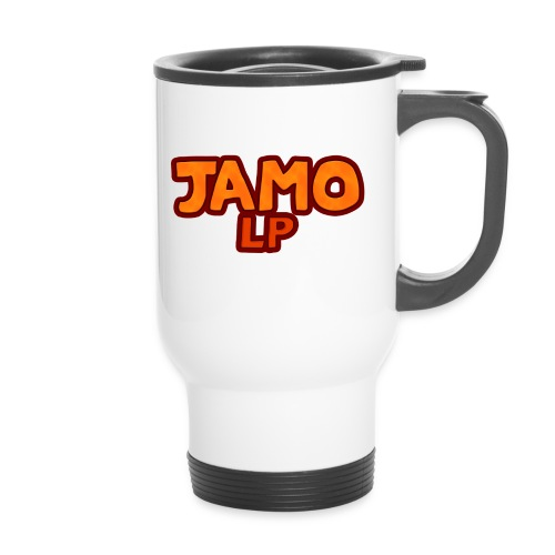 JAMOLP Logo Mug - Termokrus med bærehåndtag