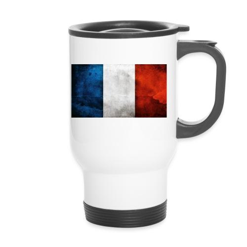 France Flag - Thermal mug with handle