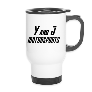 Y and J Motorsports Logo - Thermobecher