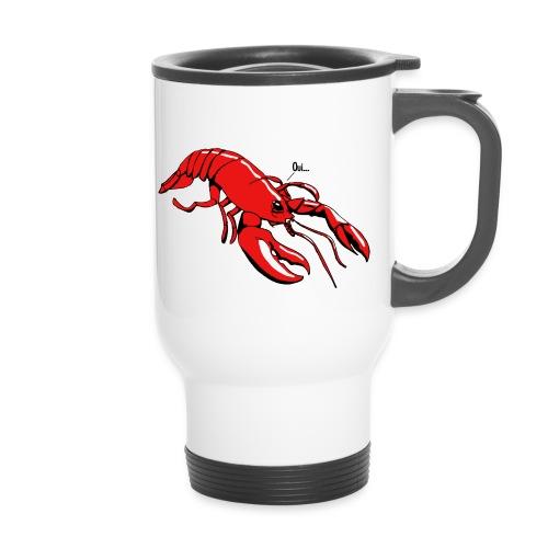 Lobster - Thermal mug with handle