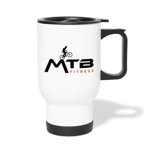 Subtle MTB Fitness - Black Logo - Thermal mug with handle