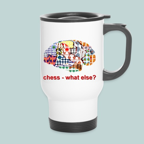 chess_what_else - Thermobecher mit Tragegriff