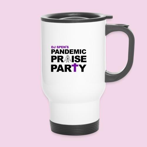 Pandemic Praise Party Logo - Travel Mug