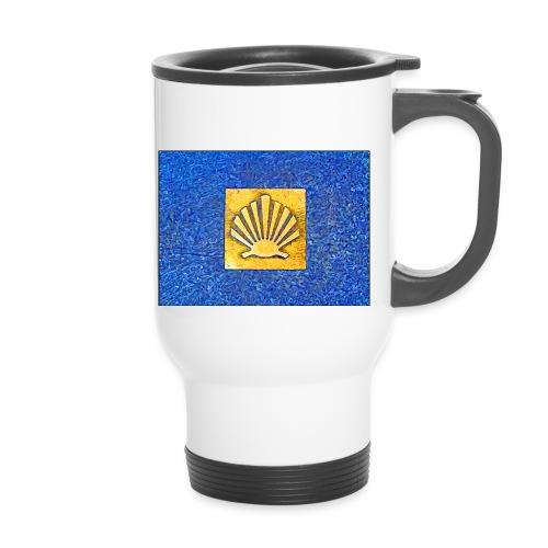 Scallop Shell Camino de Santiago - Thermal mug with handle