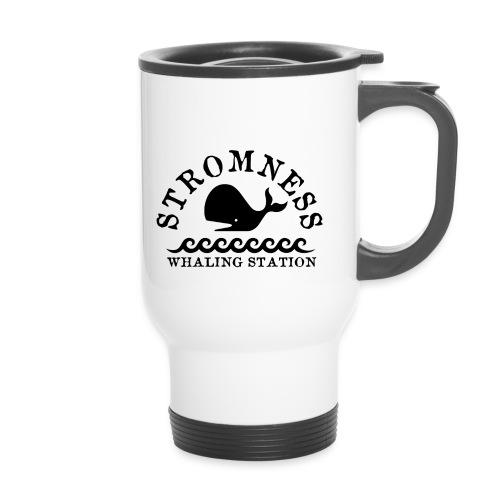 Sromness Whaling Station - Thermal mug with handle