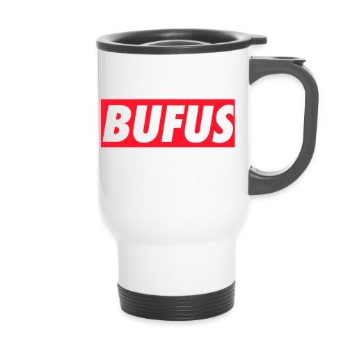 BUFUS - Tazza termica con manico per il trasporto