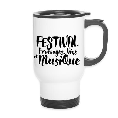 Festival FVM - Tasse isotherme avec poignée