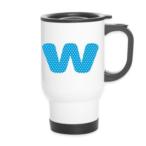 Logo kun W - Termokopp med håndtak
