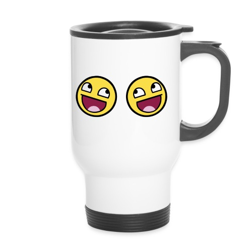 Boxers lolface 300 fixed gif - Thermal mug with handle