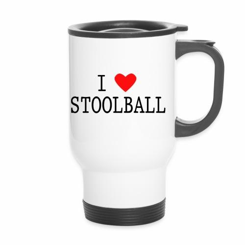 I Love Stoolball - Thermal mug with handle