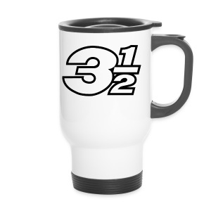 Three and a Half Logo - Travel Mug