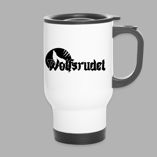 Vektor Logo Wolfsrudel - Thermobecher
