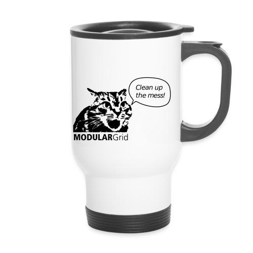 Angry Cat - Thermal mug with handle