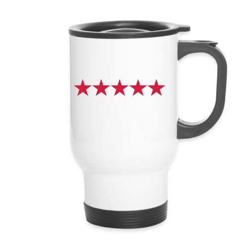 Rating stars - Kahvallinen termosmuki