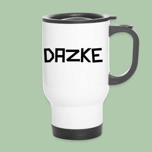 dazke_bunt - Thermobecher mit Tragegriff