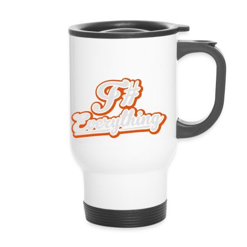 F# Everything - Thermal mug with handle