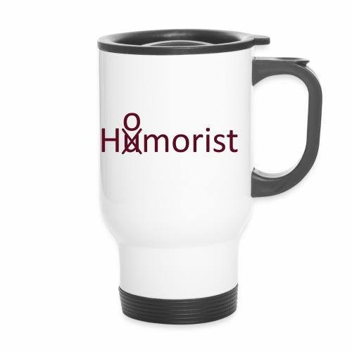 HuOmorist - Thermobecher mit Tragegriff