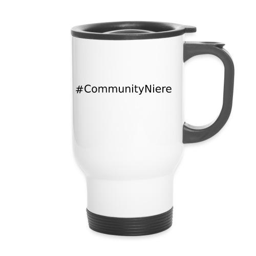 #CommunityNiere (Schwarz) - Thermobecher