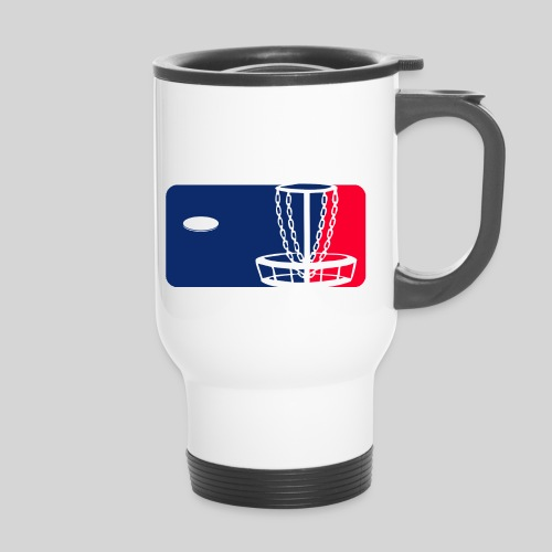 Major League Frisbeegolf - Kahvallinen termosmuki
