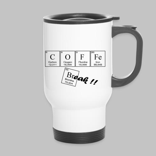 Coffee Break - Thermal mug with handle