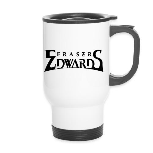 Fraser Edwards Men's Slim Fit T shirt - Thermal mug with handle