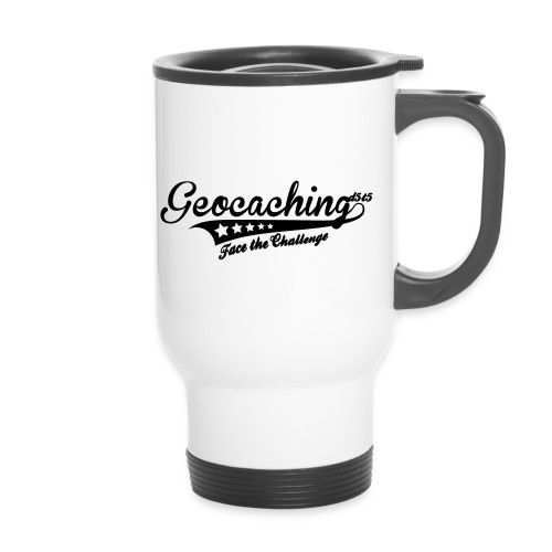 Geocaching - Face the Challenge - Thermobecher mit Tragegriff