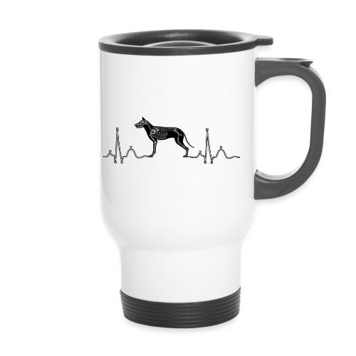 ECG met hond - Thermosmok met draagring