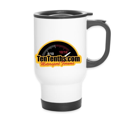 3Colour_Logo - Thermal mug with handle