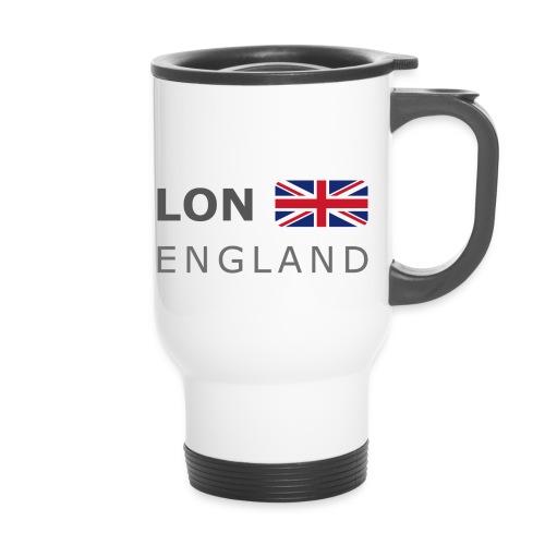 LON ENGLAND BF dark-lettered 400 dpi - Thermal mug with handle