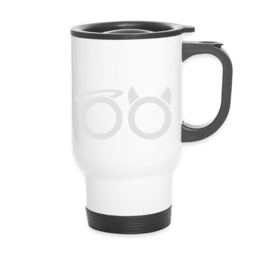 hvit svg - Thermal mug with handle