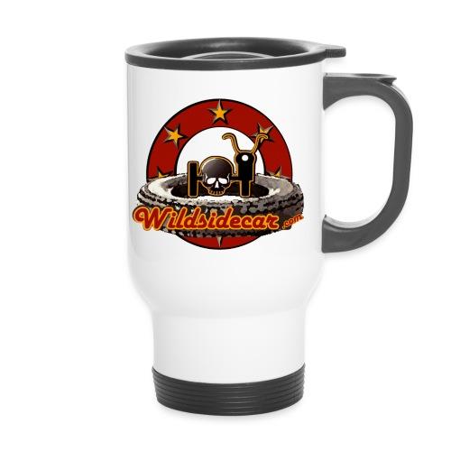 logo wildsidecar 60s gif - Mug thermos