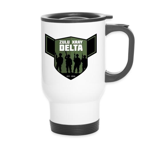 Zulu X-Ray Delta Logo - Thermal mug with handle