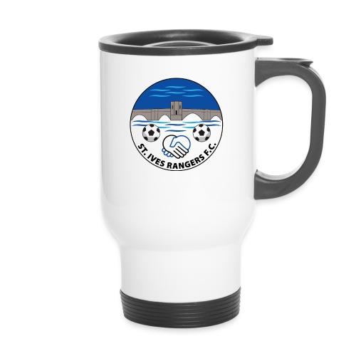 StIves fc badge1FINAL - Thermal mug with handle