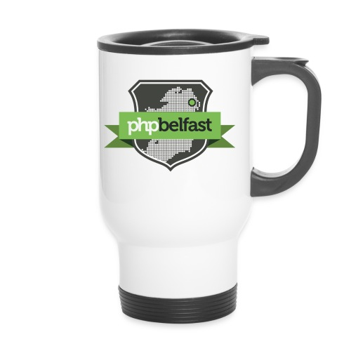 shield 300dpi png - Thermal mug with handle