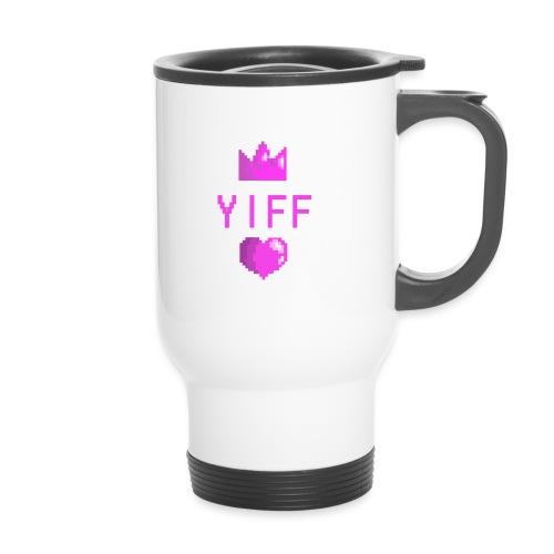 Yiff - Kahvallinen termosmuki